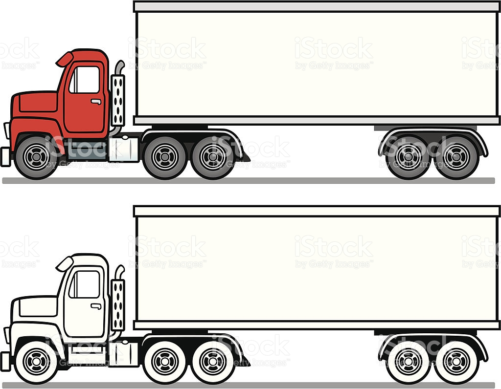 1024x796 Semi Truck Side View Clipart Amp Semi Truck Side View Clip Art