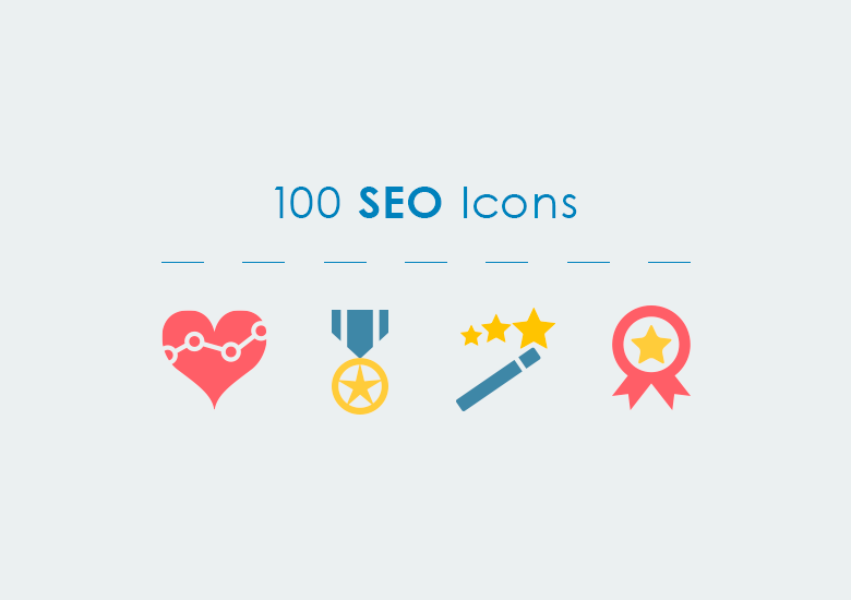 780x550 Seo Vector Icons