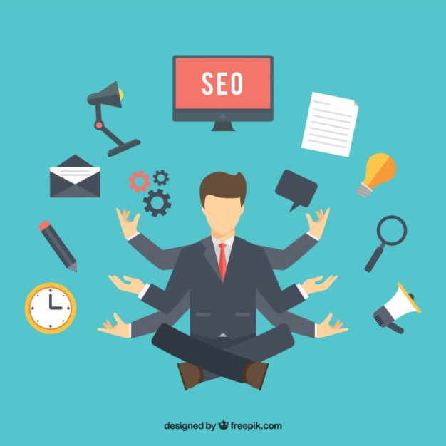 626x626 Seo Consultant Vector Free Download