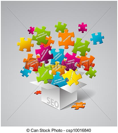 415x470 Seo Vector Illustration