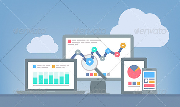 590x349 Web And Seo Analytics Concept By Bloomicon Graphicriver