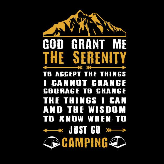 626x626 God Grant Me The Serenity Vector Premium Download