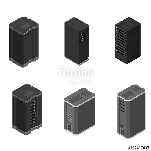 500x500 Free Servers Icon 43922 Download Servers Icon