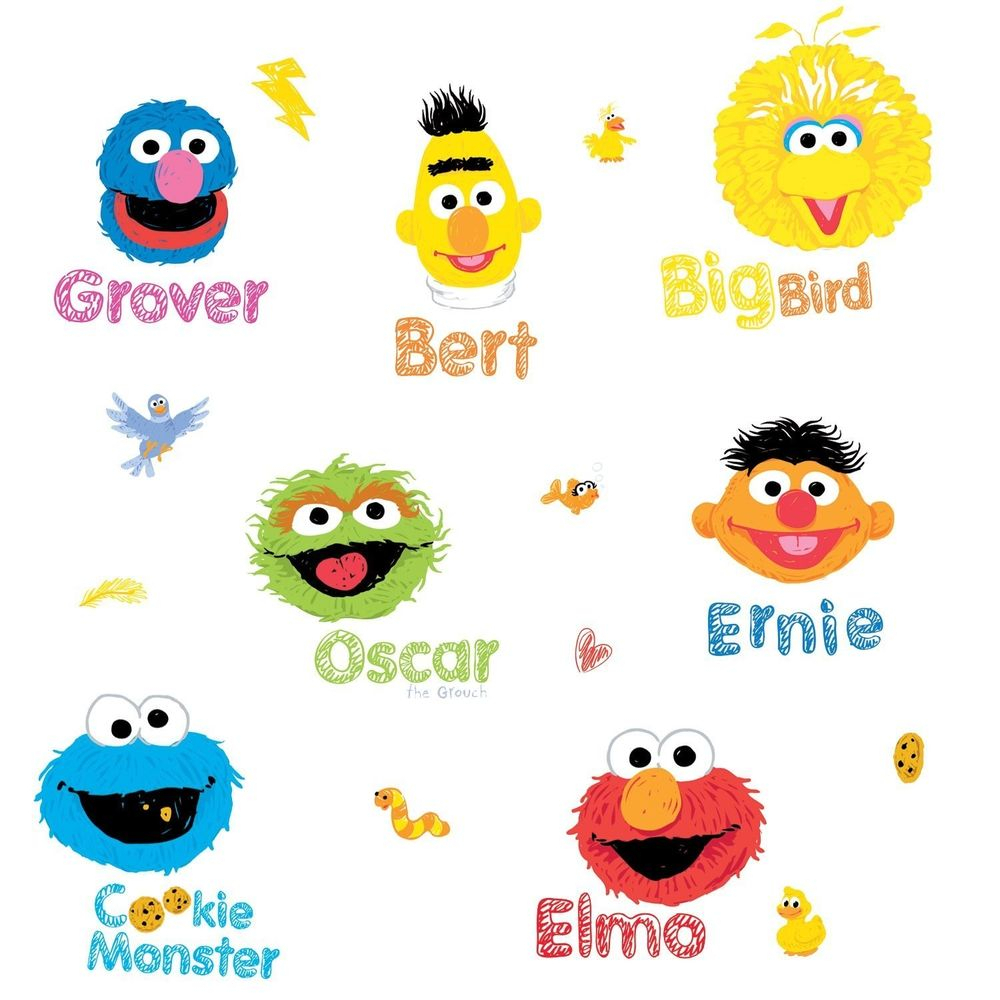 photo regarding Printable Sesame Street Characters titled Sesame Road People Vector at  No cost