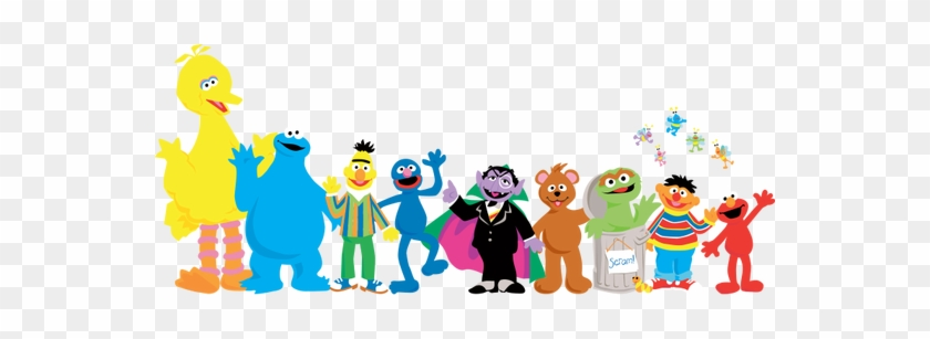 Sesame Street Characters Vector at GetDrawings com | Free for