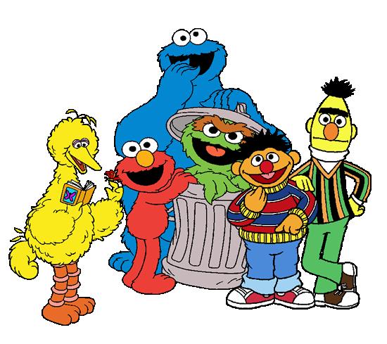 Sesame Street Vector