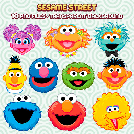 Sesame Street Vector At Getdrawings Com Free For Personal