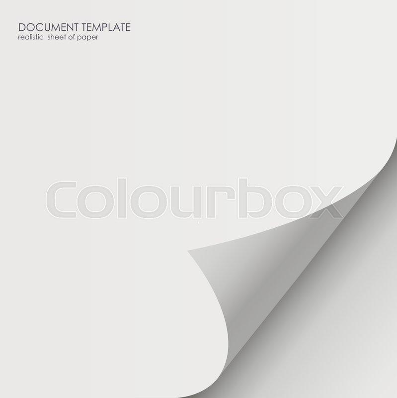 799x800 Paper Sticker With Bent Corner, Illustration. Twelve Curved Corner