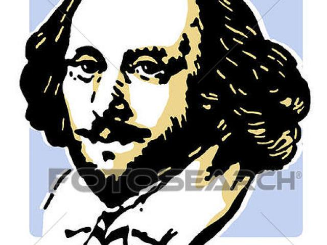 640x480 Shakespeare Clipart Vector 12