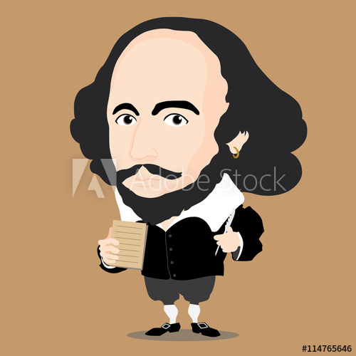 500x500 William Shakespeare Character