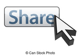 284x194 Share Button Clip Art Vector And Illustration. 9,401 Share Button