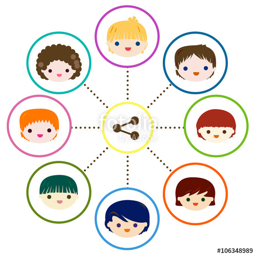 500x500 Kids Share Stock Image And Royalty Free Vector Files On Fotolia