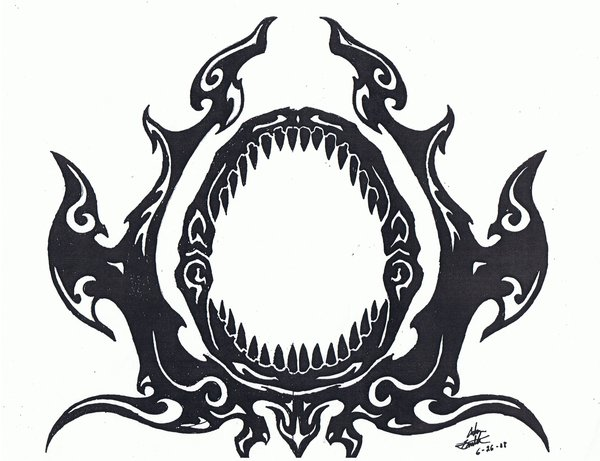 600x461 Shark Jaw Vector Images Free Download