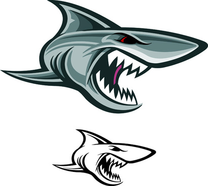 411x368 Shark Free Vector Download (128 Free Vector) For Commercial Use