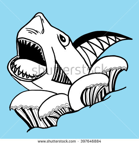 450x470 Collection Of Free Fripperer Clipart Shark Jaw. Download On Ubisafe