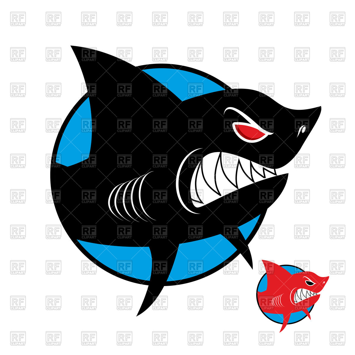1200x1200 Shark Logo Vector Image Vector Artwork Of Icons And Emblems