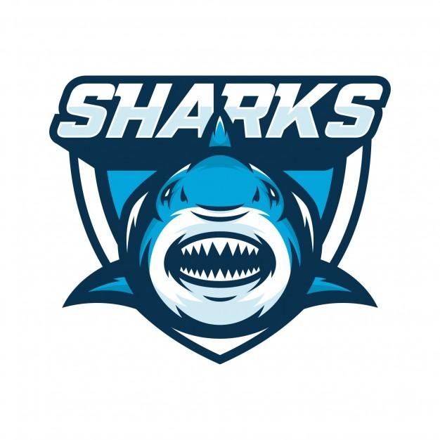 626x626 Sharks Animal Sport Mascot Head Logo Vector Vector Premium Download
