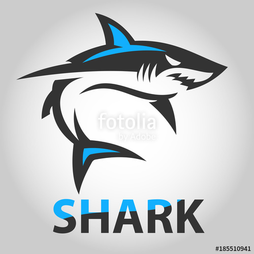 500x500 Vector Shark Icons Stock Image And Royalty Free Vector Files On