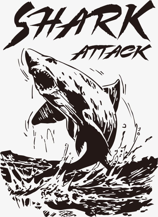 650x891 Shark Out Of Water, Shark Vector, Water Vector, Shark Png And