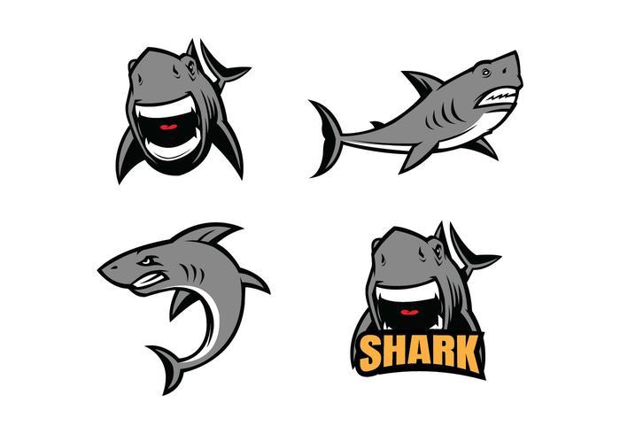 700x490 Free Shark Vector