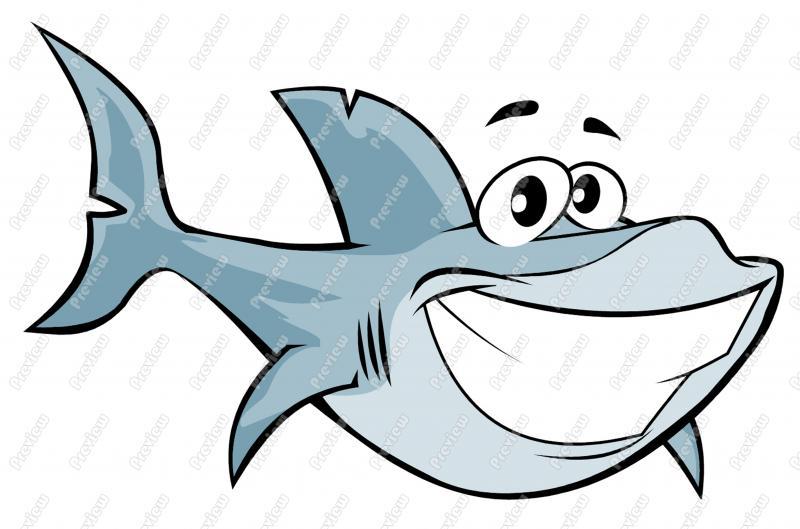 800x529 Funny Clipart Shark