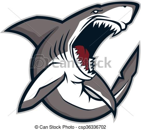 450x413 Angry Shark Mascot. Clipart Picture Of An Angry Shark Cartoon