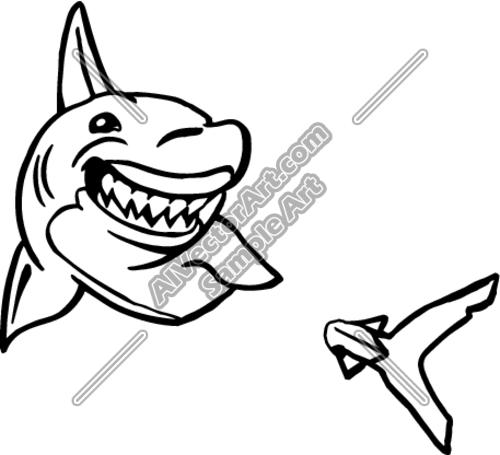 500x455 Shark Clipart And Vectorart Sports Mascots