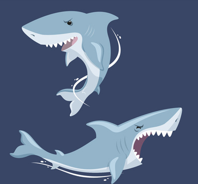 396x368 Shark Free Vector Download (128 Free Vector) For Commercial Use