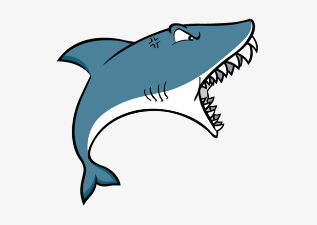 650x461 Vector Cartoon Shark, Vector, Cartoon, Shark Png And Vector For