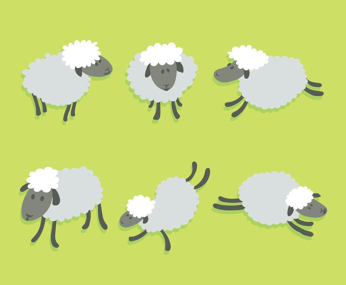 1136x936 Cartoon Sheep Vector Vector Art Amp Graphics