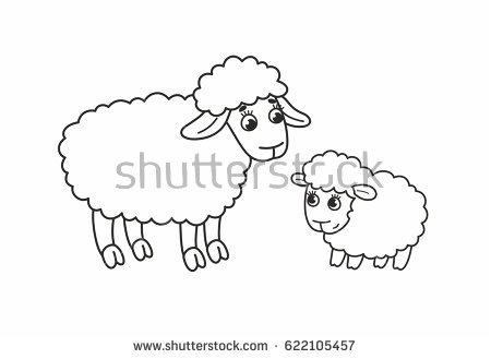 450x329 Cute Sheep Vectors