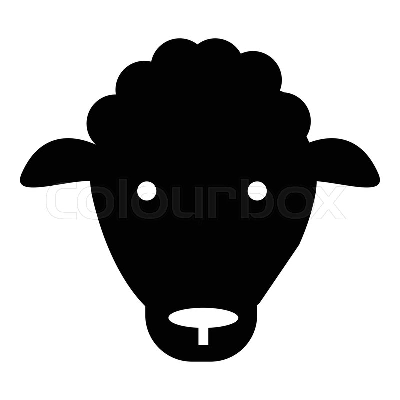 800x800 Sheep Icon. Simple Illustration Of Sheep Vector Icon For Web