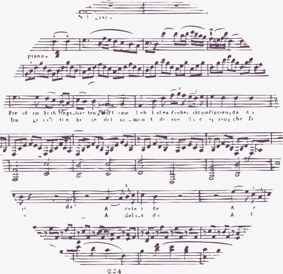 562x545 Beautiful Music, Music Vector, Sheet Music, Note Png And Vector