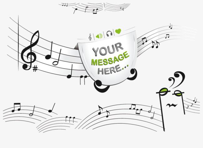 650x475 Vector Creative Music Notation Sheet Music Free Downloads, Music