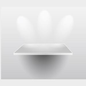 300x300 Presentation Shelf Vector