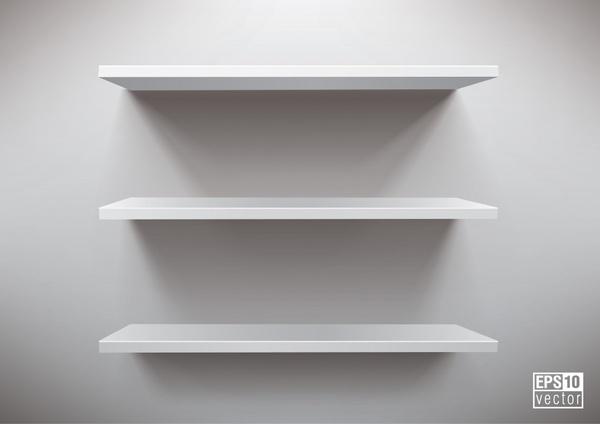 600x424 Vector Blank Display Shelf Free Vector In Encapsulated Postscript