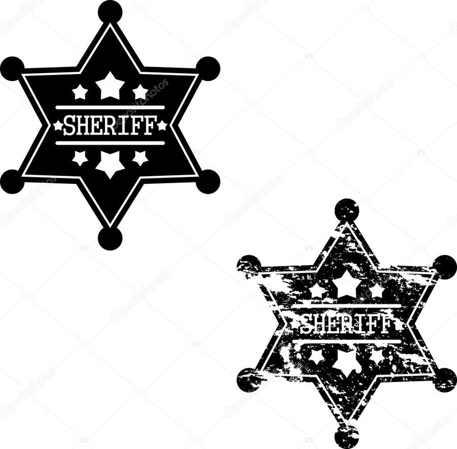 900x884 Download Sheriff Badge Vector Black Clipart Badge Sheriff Badge