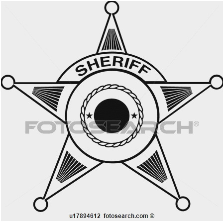 450x446 Sheriff Badge Outline Luxury Special Ficer Badge Stock Royalty