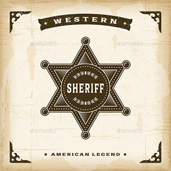 590x590 Sheriff Logo Vector Vector Sheriff Badge Star Set