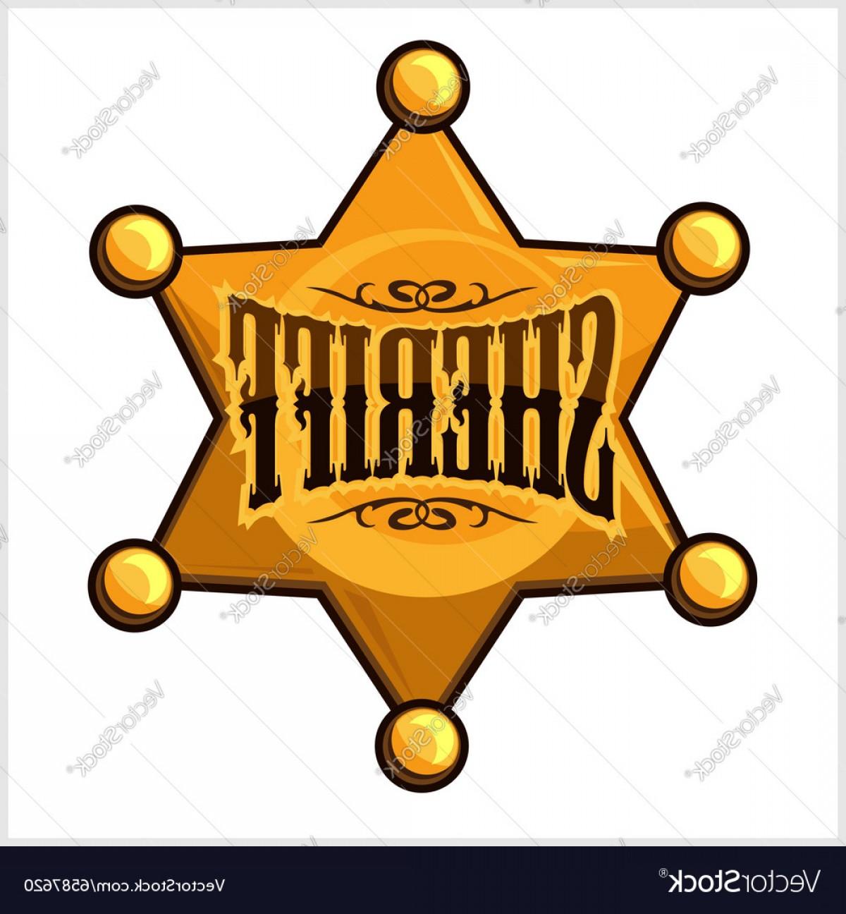 1200x1296 Golden Sheriff Star Badge Vector Shopatcloth