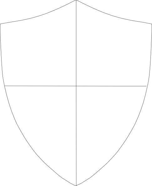 Shield Template Vector