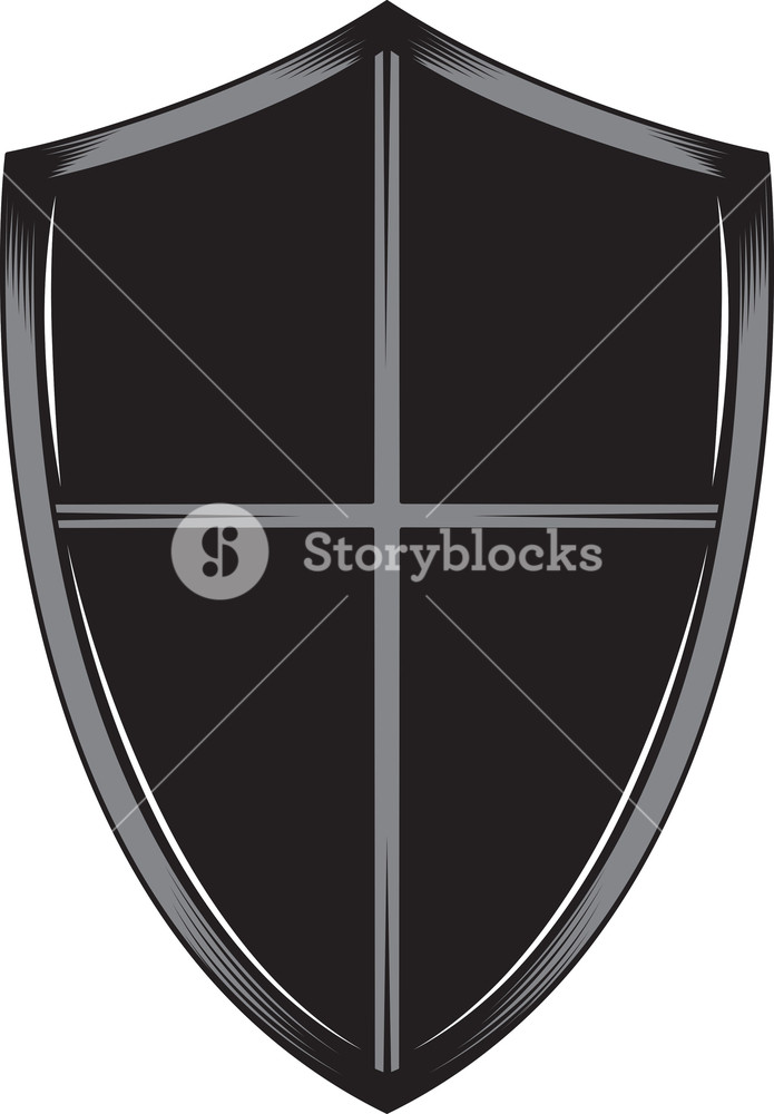 695x1000 Shield Vector Element Royalty Free Stock Image