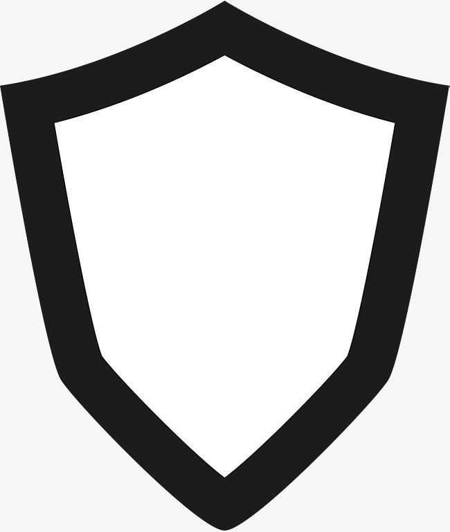 650x769 Black Shield, Flat Shield, Shield Vector Png And Vector For Free