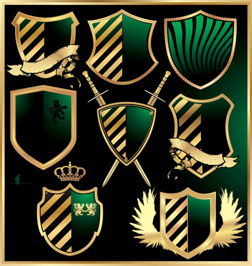 500x526 Luxurious Royal Shield Vector Material 01 Free Download