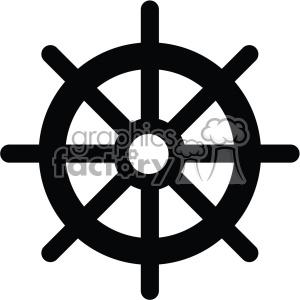 300x300 Royalty Free Ship Steering Wheel Vector Icon 403005 Icon