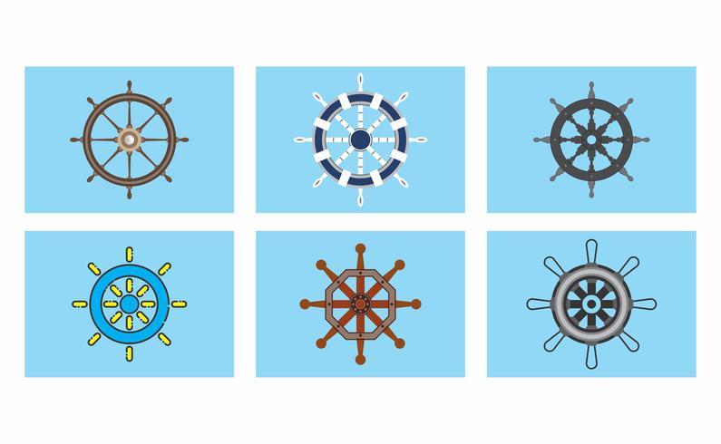 795x490 Ship Wheel Free Vector Art