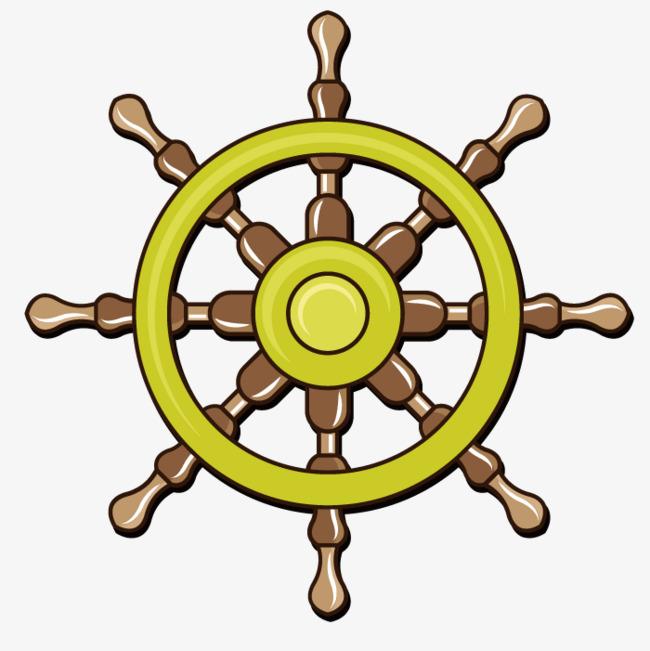 650x651 Vector Navigation Steering Wheel, Wheel Vector, Ship Steering