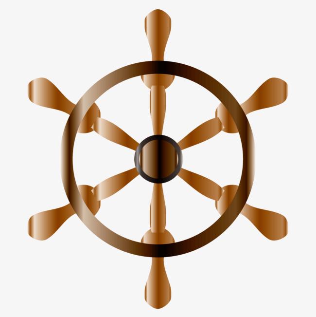 650x651 Wooden Ship Steering Wheel, Ship Vector, Wheel Vector, Steamship