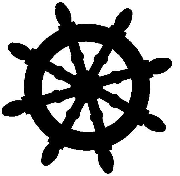 625x610 Yacht Clipart Steering Wheel