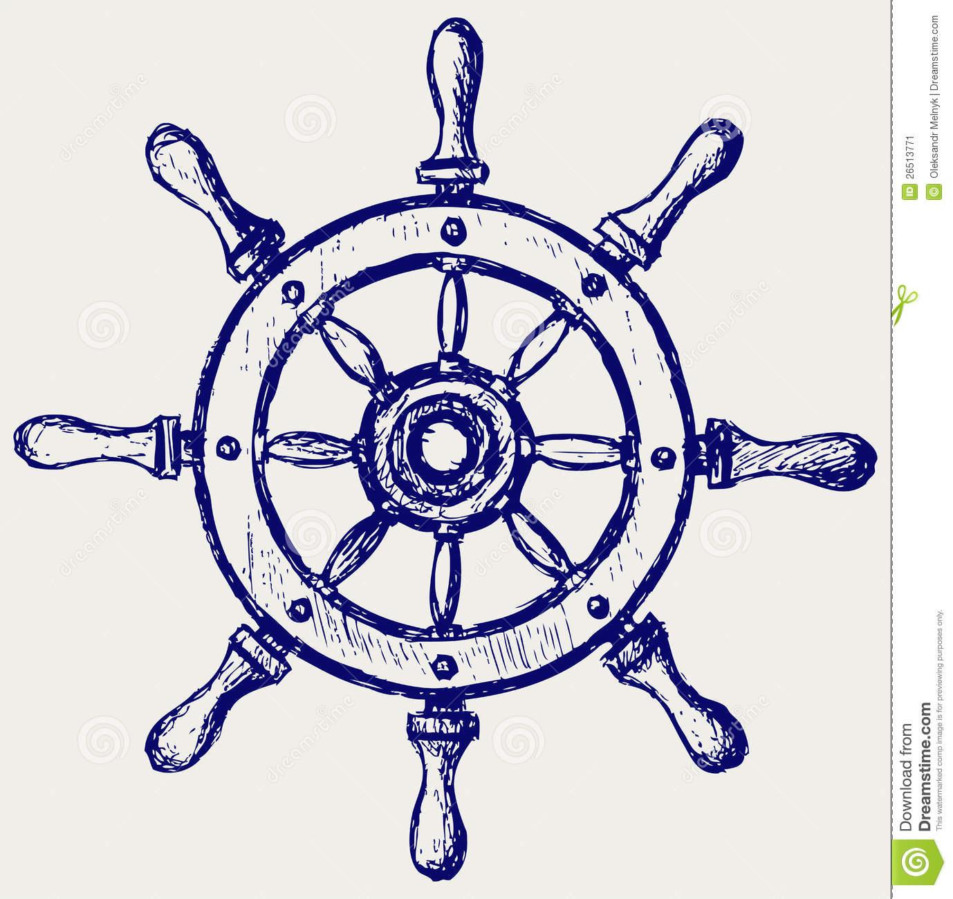 1378x1300 Boat Steering Wheel Clipart